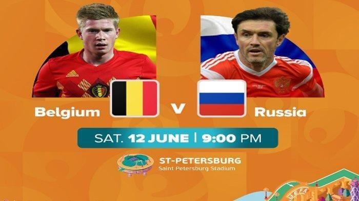 Jadwal Piala Eropa Dini Hari Nanti, Belgia vs Rusia, Setan Merah Tanpa Trio De Bruyne-Witsel-Hazard