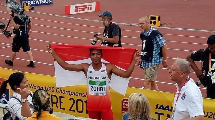 Zohri Tak Lolos Final Lari 100 Meter, Ternyata Masuk Final di Cabor Lain, Berpeluang Sumbang Medali