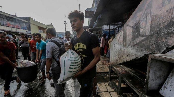 Lapak Jualan di Lantai Dua Pasar Peunayong Banda Aceh Terbakar, Sering Dijadikan Tempat Anak Punk