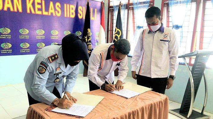 DPP IKAN Teken MoU dengan Lapas Perempuan Sigli, Ini Program yang Akan Dilakukan