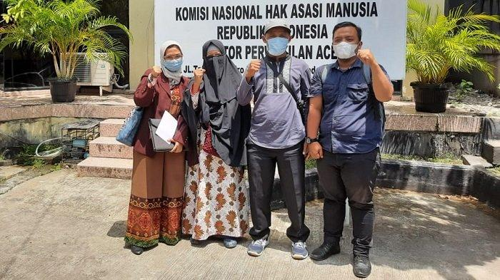 Panglima Laot Air Pinang Laporkan Lambannya Proses Hukum Anggota Pokmaswas ke Komnas HAM