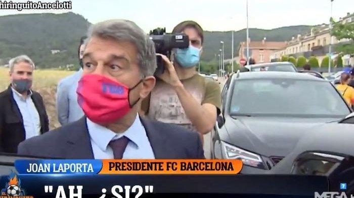 Terkejut Ancelotti Kembali Latih Real Madrid, Presiden Barcelona: Oh ya? Dia Pelatih yang Bagus