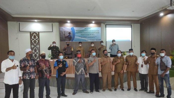 Sekda Aceh Jaya: Hutan Mangrove tidak Boleh Dialihkan Jadi Tambak Udang
