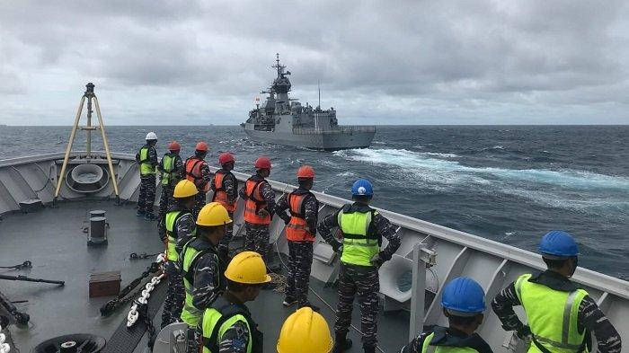 TNI AL Libatkan KRI Bung Tomo-357 Dalam Latihan Bersama dengan Kapal Perang Royal Australian Navy