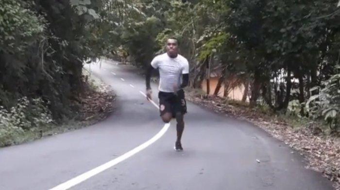 Latihan di Gunung, Cara Pemain Persiraja Muhammad Kasim Slamat Hindari Keramaian