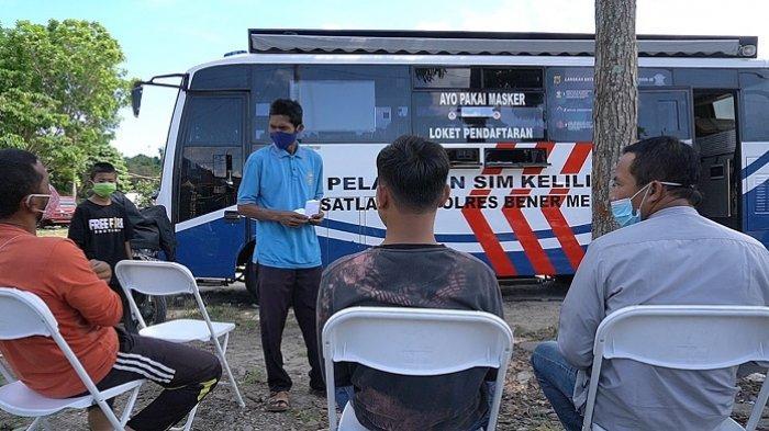 Polres Bener Meriah Launching Program SKCK Keliling