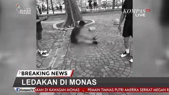 Detik-detik Ledakan di Monas, Saksi Sebut Ledakan Kencang: Saya Malah Takut