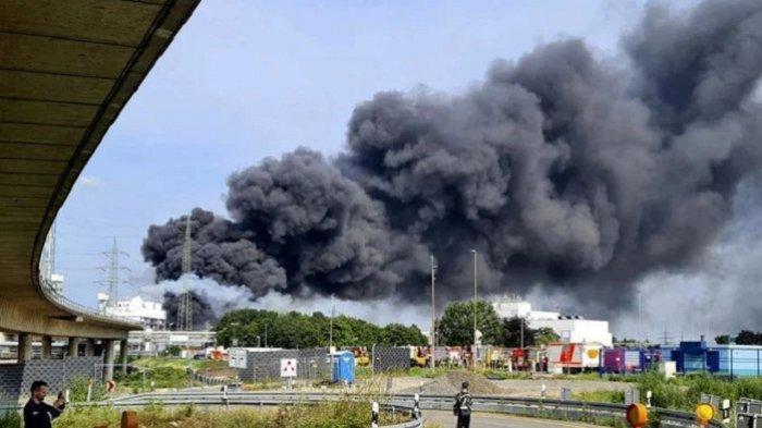 Jerman Tuduh Ledakan Pabrik Kimia Sebagai Ancaman dari Kelompok Ekstrem
