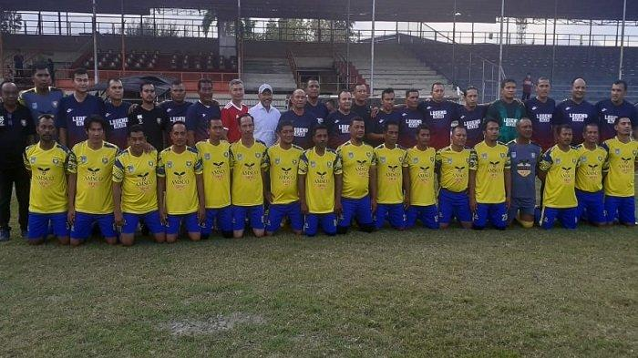 Legend PSBL Langsa Tour Aceh Perkuat Silaturahmi Sesama Mantan Pemain Profesional di Aceh