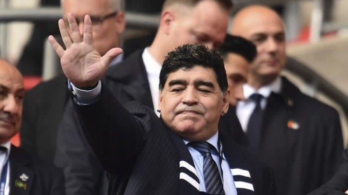 Kata-kata Terakhir Diego Maradona Sebelum Meninggal, Keluhkan Kondisi Badan