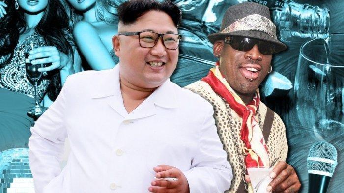Sambil Ditemani Vodka & Wanita, Legenda NBA Dennis Rodman Cerita Serunya Berpesta dengan Kim Jong Un