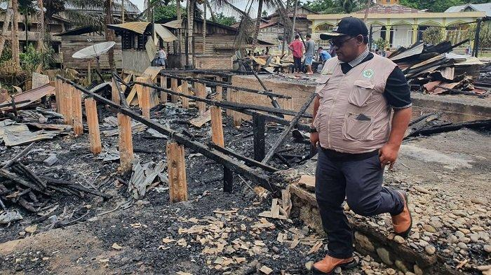 Ekses Lima Rumah Terbakar di Langkahan Aceh Utara, 22 Jiwa Mengungsi