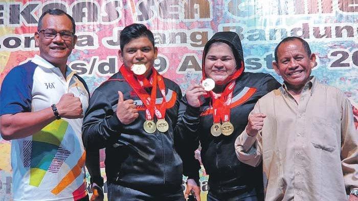 Tampil di Kejuaraan Asia, Dua Lifter Aceh Dikirim ke Uzbekistan
