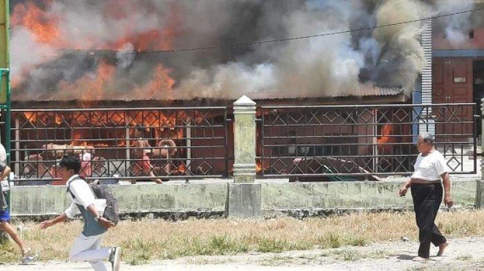 Kebakaran Lahan Makin Dekat ke Proyek PLTU, Api Lalap Lima Rumah di Agara