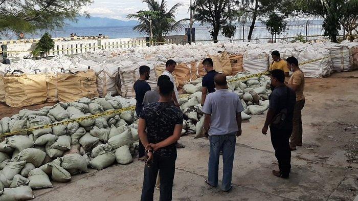 Polda Aceh Temukan 150 Ton Limbah Hasil Penambangan Ilegal di Aceh Selatan