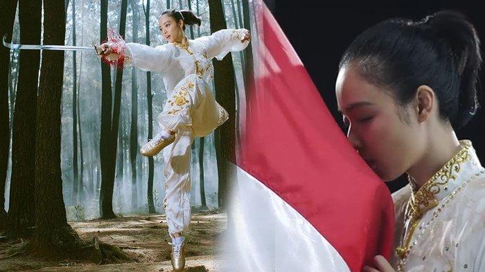 Lindswell Kwok, peraih medali emas kedua untuk Indonesia di Asian Games 2018