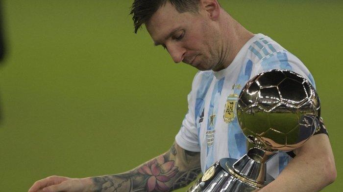 Bawa Argentina Juara Copa America 2021, Lionel Messi Bukan Cuma Jadi Top Scorer, Ini Rekor Lainnya