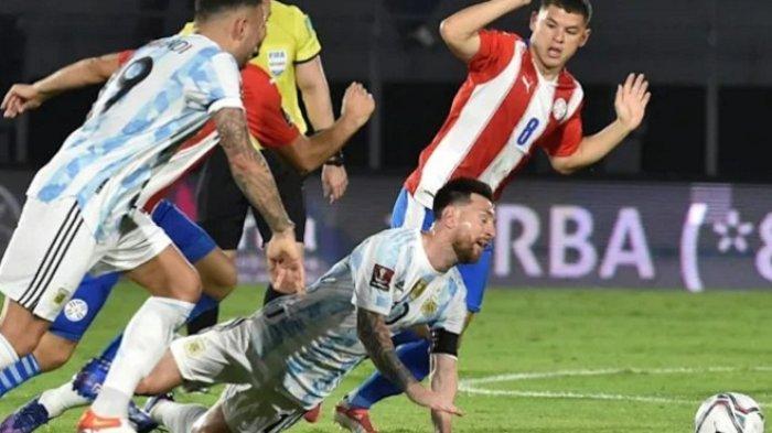 Messi Gagal Cetak Gol ke Gawang Paraguay, Argentina Tetap Tak Terkalahkan di Kualifikasi Piala Dunia