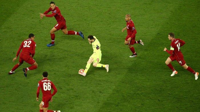 Mengapa Lionel Messi tak Berdaya di Anfield? Ini Catatan Golnya di Tanah Inggris