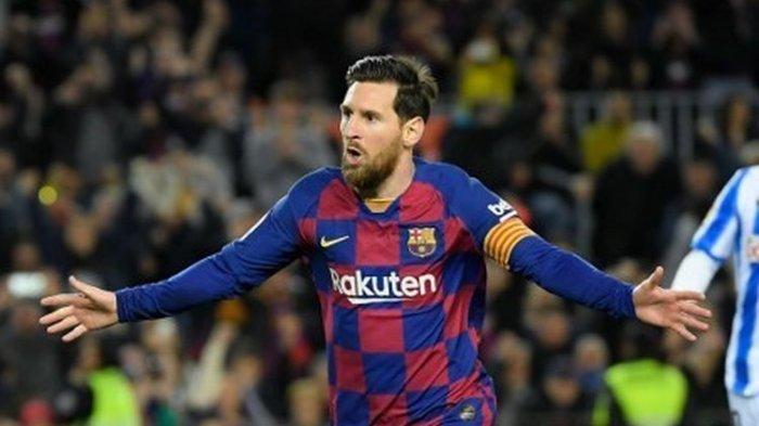 Lionel Messi Cetak Gol Ke-700 Lewat Penalti, Tapi Tak Bisa Menangkan Barcelona di Camp Nou