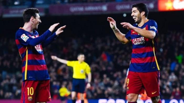 Soal Kontrak Messi yang Selangit, Luis Suarez Sebut Ada Lima Orang Jahat yang Membocorkannya