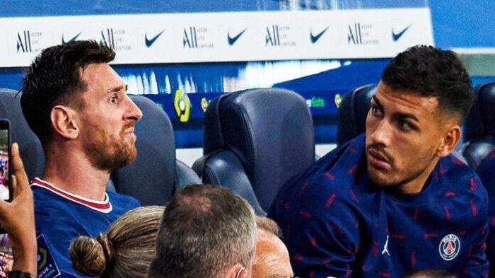 Sedihnya Leo Messi di PSG, Setelah Kecewa Ditarik Keluar, Kini Harus Absen Akibat Cedera Lutut Kiri