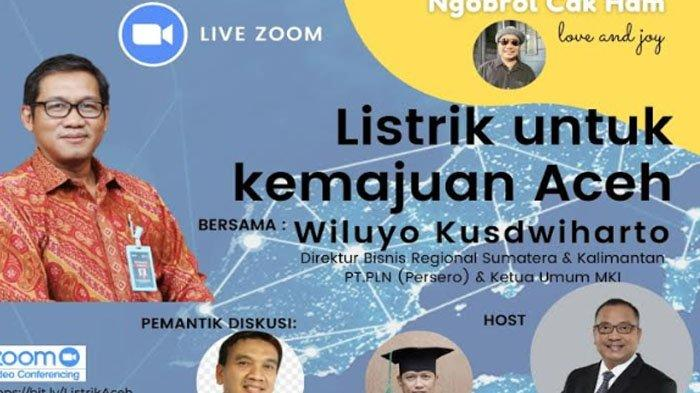 Dirut Bisnis Regional Sumatera dan Kalimantan PT PLN Bahas Soal Listrik Aceh dalam Ngobrol Cak Ham