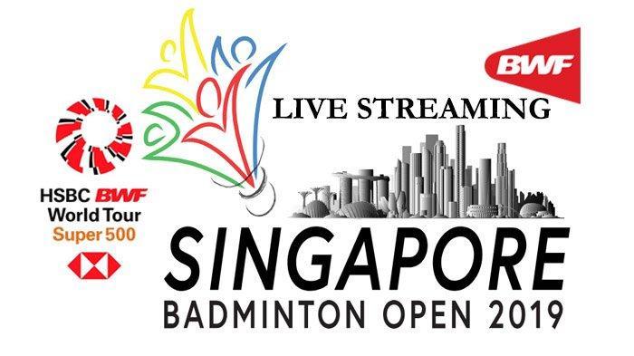 Jadwal Live Streaming 16 Besar Singapore Open 2019 - Marcus/Kevin dan Fajar Rian Main Bersamaan