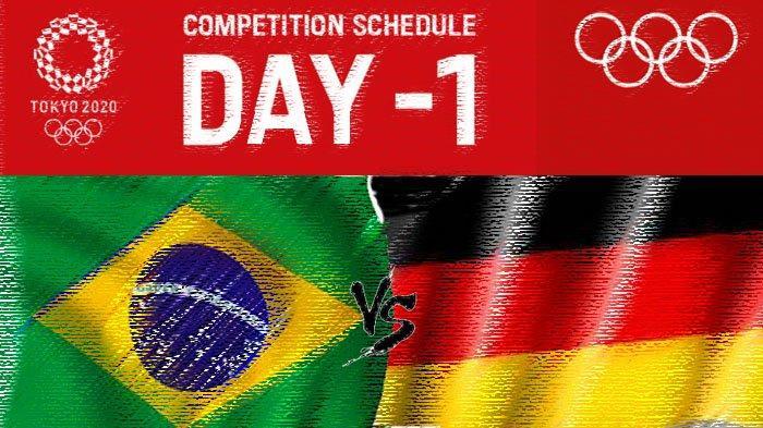 Live Streaming Big Match Laga Brasil vs Jerman di Olimpiade Tokyo 2020, Malam Ini Pukul 18.30 WIB