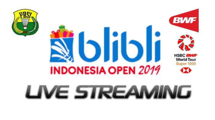 Live Streaming Semifinal Indonesia Open 2019, Ahsan/Hendra vs Hoki/Kobayashi, Marcus/Kevin vs Li/Liu