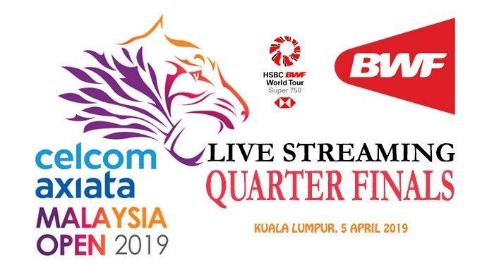 Live Streaming QF Malaysia Open 2019 - Marcus/Kevin Vs Fajar/Rian & Ahsan/Hendra Vs Li/Liu 16.50 WIB