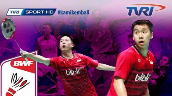 Live TVRI dan Link Live Streaming Perempat Final BWF World Championships Mulai Pukul 10.00 WIB