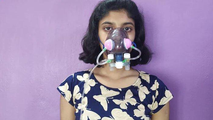 Ini Masker Pembunuh Virus Corona Diciptakan Siswi di India, Begini Cara Kerjanya