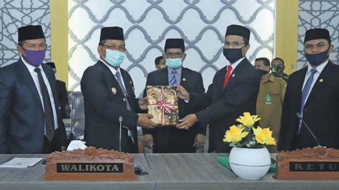 DPRK Banda Aceh Gelar Paripurna Penyampaian Pertanggungjawaban APBK 2019