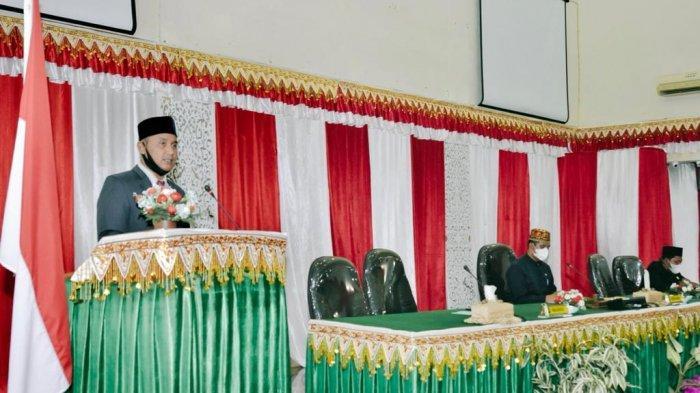 Wali Kota Sabang Serahkan LKPJ 2020 Ke DPRK, Nazaruddin: Covid-19 Berdampak Bagi Perekonomian