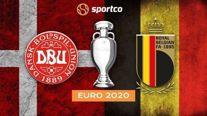 Jadwal Piala Eropa Malam Ini, Denmark vs Belgia, Eriksen Semangati Punggawa Tim Dinamit