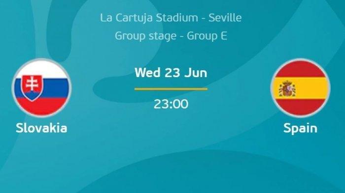 Partai Terakhir Grup E Malam Ini, Slovakia vs Spanyol, Punggawa La Furia Roja Butuh Menang