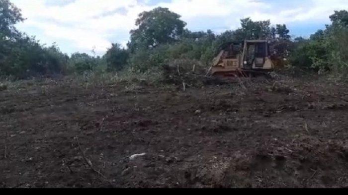Semak Belukar Lokasi Pembangunan RS Regional Bireuen Dibersihkan