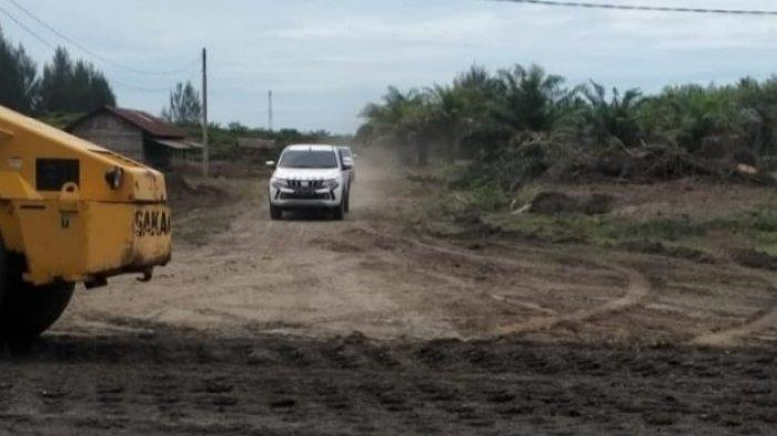 Disorot GeRAK Soal Amdal,DLH Nagan Raya Hentikan Paksa Aktivitas Pengerukan Tanah di Suak Puntong
