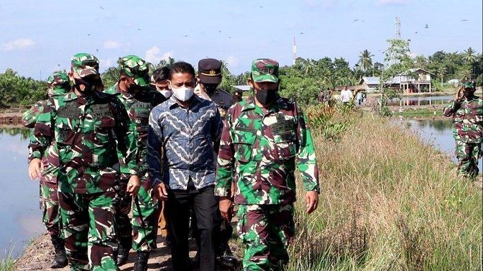 Dandim 0104/Aceh Timur Tinjau Lokasi Rencana TMMD Reguler ke-112 di Kota Langsa