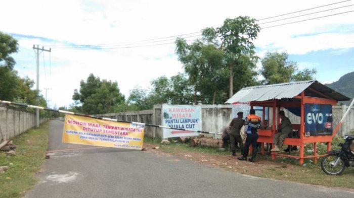 Mulai Hari Ini, Lokasi Wisata di Tiga Kecamatan, di Aceh Besar, Ditutup untuk Masyarakat Umum