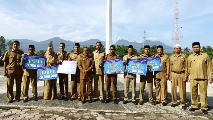 Meunasah Mon Cut Juara Lomba Gampong se Aceh Besar, Dapat Uang Pembinaan Rp 50 Juta