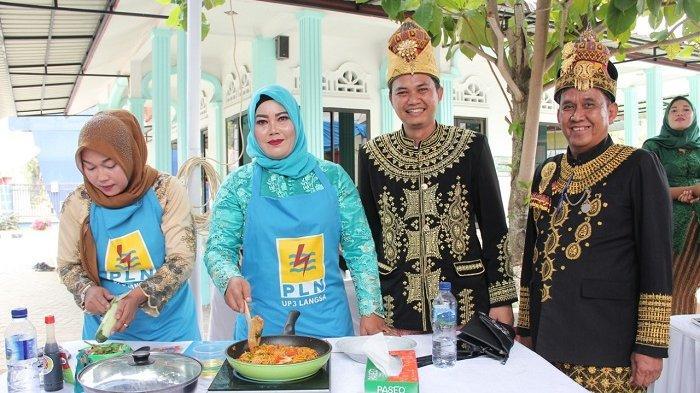 Memperingati Hari Kartini, PLN UP3 Langsa Gelar Lomba Trend Memasak Kekinian