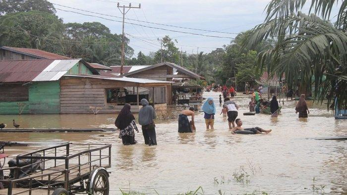Tiga Desa di Kecamatan Longkib Kota Subulussalam Dilanda Banjir