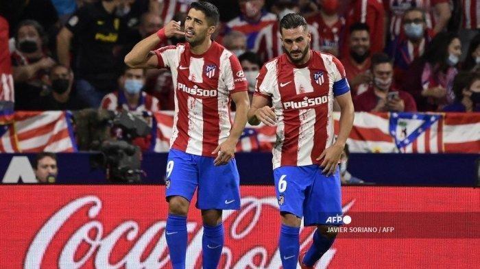 Atletico Madrid Bungkam Barcelona, Selebrasi Luis Suarez Usai Cetak Gol Sindirian untuk Koeman