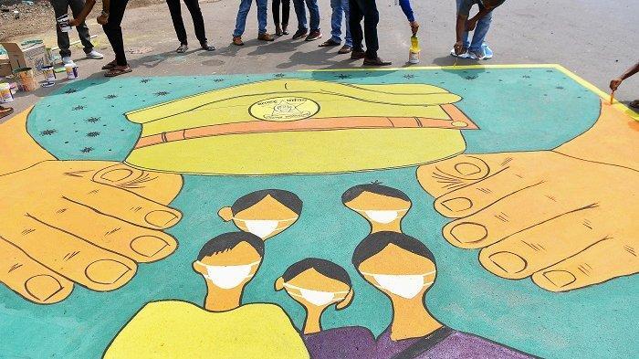 30 Pekerja Migran India Tewas Saat Pulang Kampung