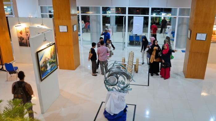 30 Perupa Aceh dan Enam Perupa Indonesia Berpameran di Taman Seni dan Budaya Aceh