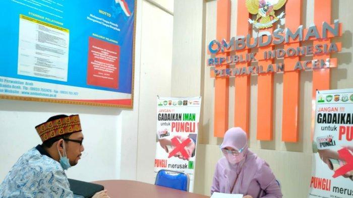 Sidang Tesis Bermasalah, Mahasiswa Pascasarjana Laporkan Rektorat UIN Ar-Raniry ke Ombudsman Aceh