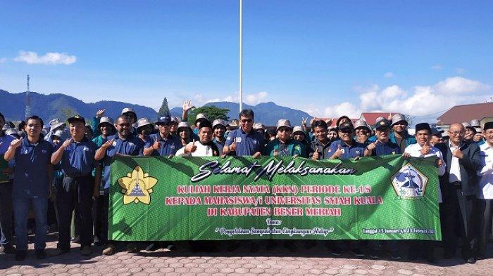 Bupati Sarkawi Terima 313 Mahasiswa KKN dari Unsyiah, Ini yang Dikerjakan Selama di Desa