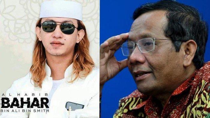 Alasan Mahfud MD Ogah Sebut Nama Habib Bahar bin Smith, Bandingkan dengan Kasus Setya Novanto